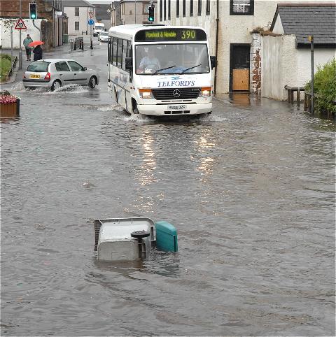 flooding annan z3
