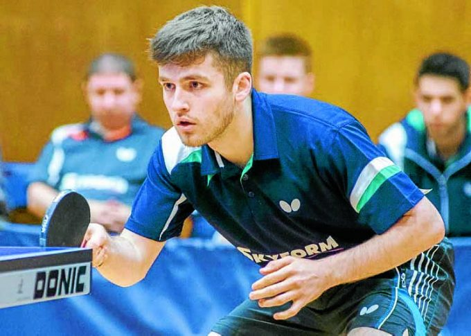 GAMES BID . . . Calum Main who is aiming for a place in the Commonwealth Games team in 2018.