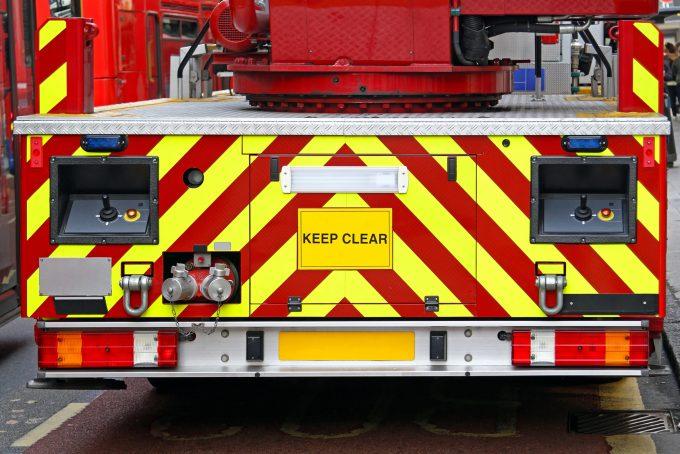 Rear Fire Engine