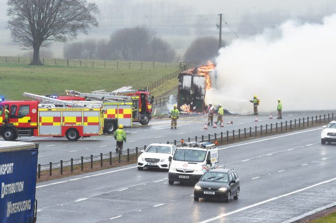 lorry fire ttt9