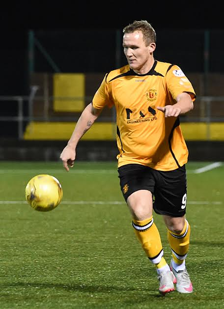 Annan's top-scoring forward Peter Weatherson has bagged 21 goals in all competitions this season