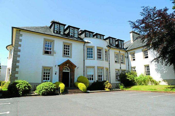 hetland hall *** Local Caption ***  HOTEL BOOST . . . a £2 million makeover of Hetland Hall Hotel at Carrutherstown by its new owners is set to see staff numbers double