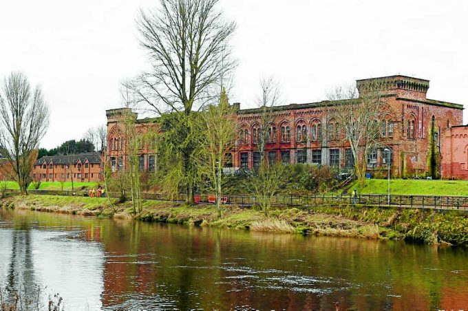 wqd *** Local Caption ***  BUILDING CALL . . . Luke Moloney from Dumfries Historic Buildings Trust had made a call for the redevelopment of Rosefield Mills in Dumfries, which failed to sell at auction in Glasgow on Wednesday evening