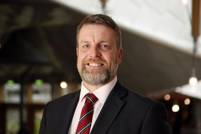 Finlay Carson MSP - 31 January 2017. Pic - Andrew Cowan/Scottish Parliament