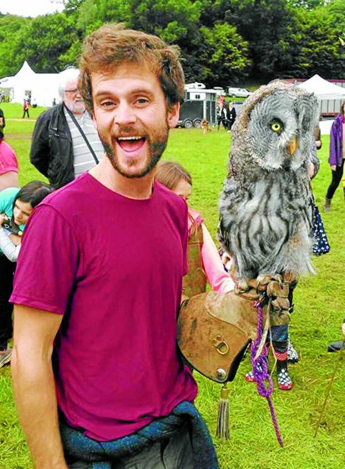 Visitor Sam Weatherald enjoyed some Owl Magic