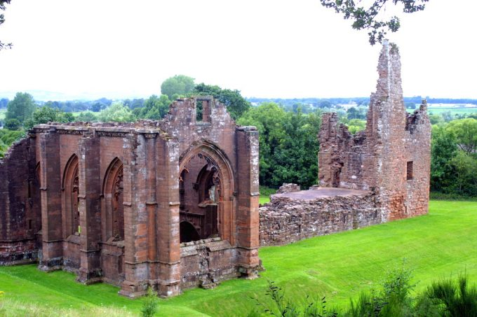 STILL standing after more than 500 years - the ruins of Lincluden Collegiate College in Dumfries, (Picturee by Frank Ryan, Dumfries)