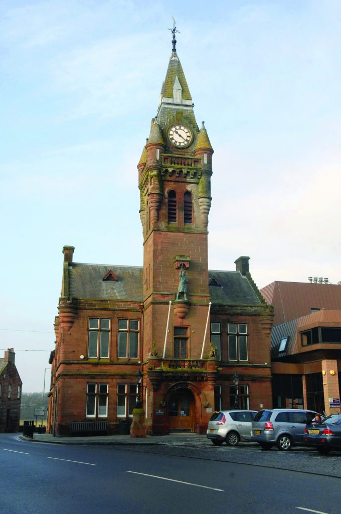 LIBRARY PLAN . . . Annan Library is set to open in its new home of Annan Town Hall on December 4 *** Local Caption *** LIBRARY PLAN . . . Annan Library is set to open in its new home of Annan Town Hall on December 4