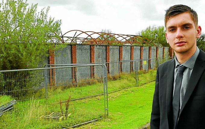 we *** Local Caption ***  NO CHANGE . . . plans to build 15 homes at the former cheese factory have been scrapped