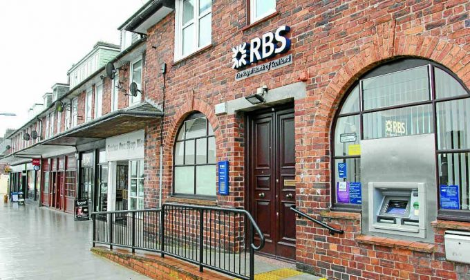 SECOND CHANCE . . . the Royal Bank of Scotland at Gretna has been given a temporary reprieve