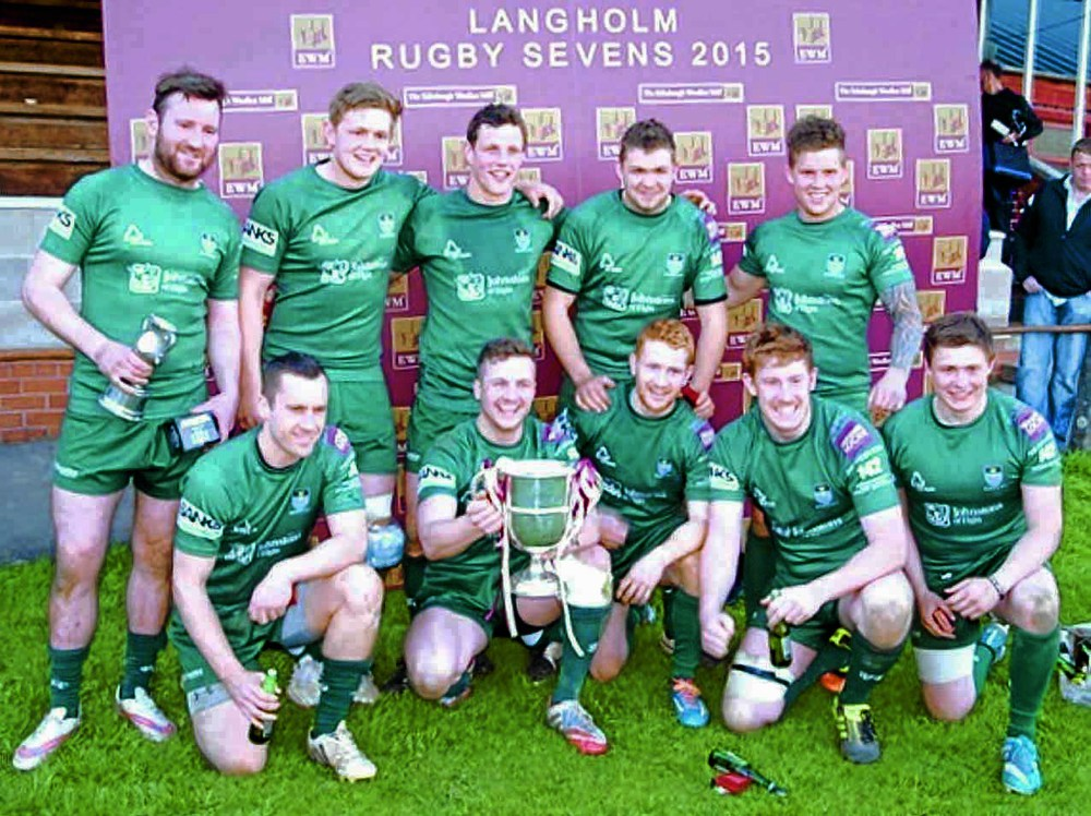 Hawick lift Scott Cup at EWM Langholm sevens
