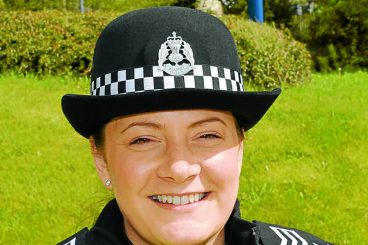 Police trio step up the promotion ladder