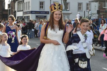 Annan's Queen of the Border crowned