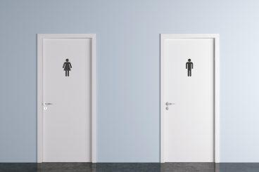Wee ones in African toilet twinning link
