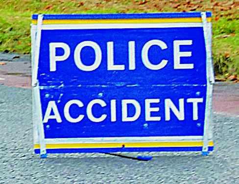 Collision causes A75 delays