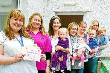 Celebrating breastfeeding milestones