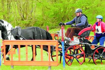 Drivers compete in Lakes event