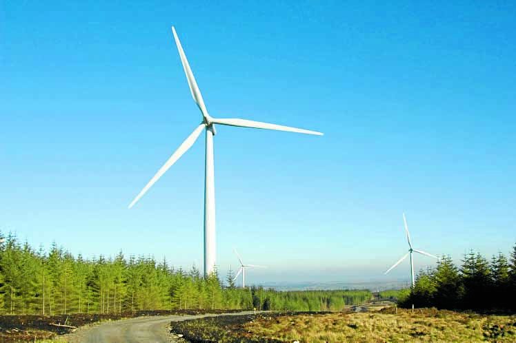 Windfarm website tracks D&G turbines