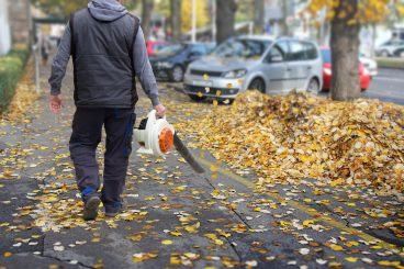'Blow' for workmen after leaf blower theft