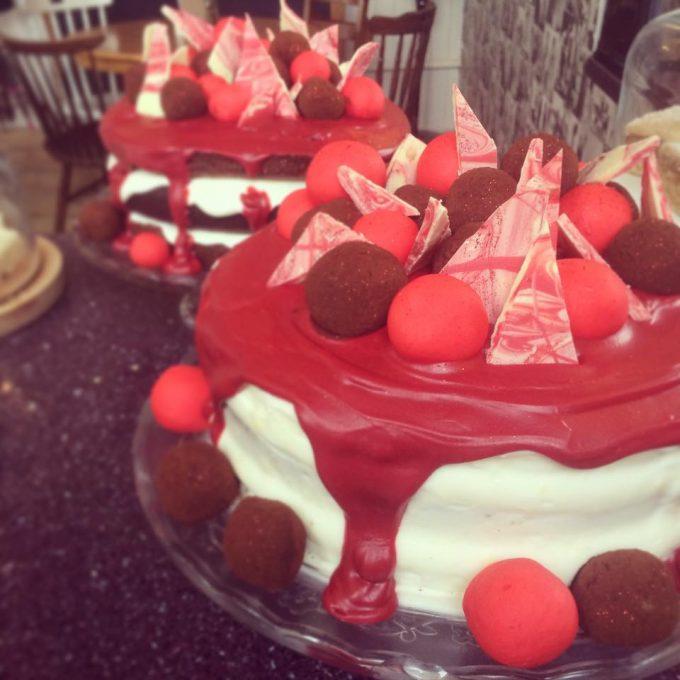 red nose cake