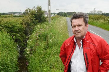 Barrier call amid accident fears on eroding road