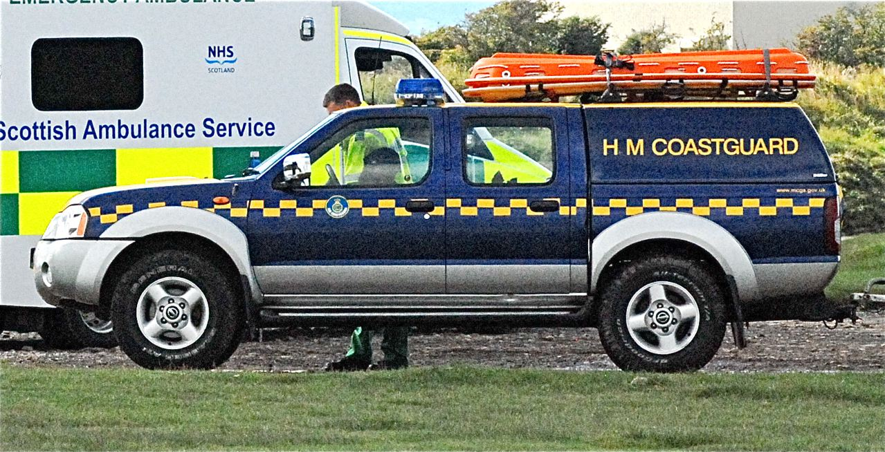 Group rescued at Southerness