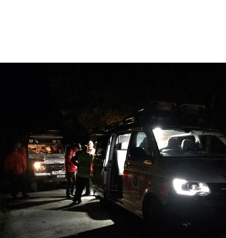 Midnight hill rescue mission