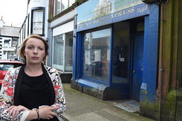 Shopkeepers fed up of scruffy street state