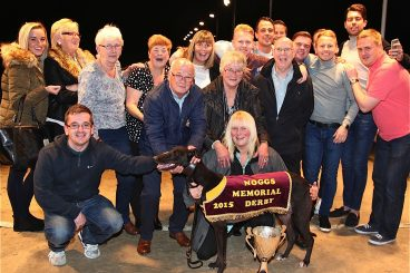 GREYHOUNDS:  Derby double for border trainers