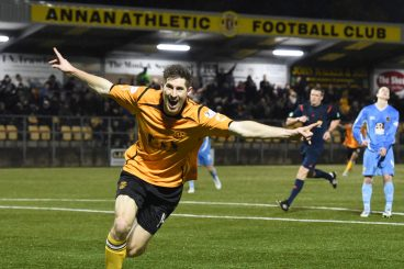 Goal-den game for Annan Athletic