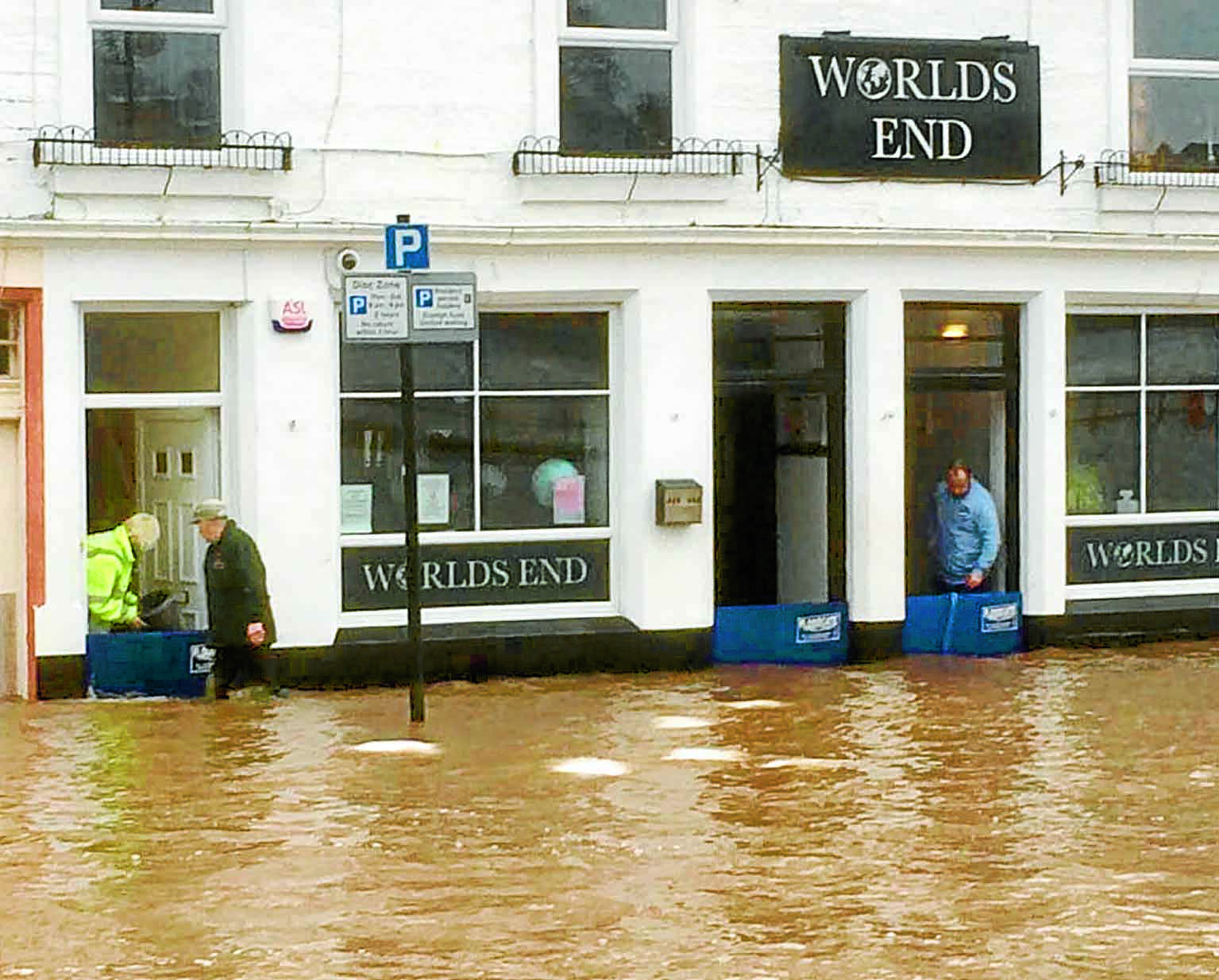 Region counts cost of Storm Frank