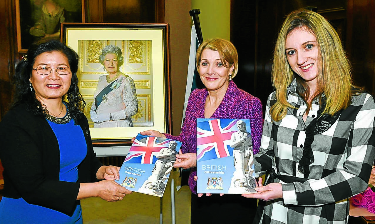 Broadcaster Fiona new Lord-Lieutenant