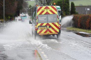 Flood alert for region