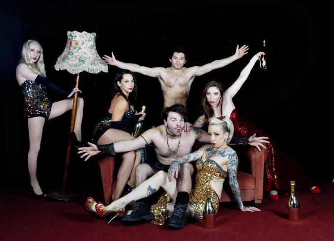 The cast of Le Haggis