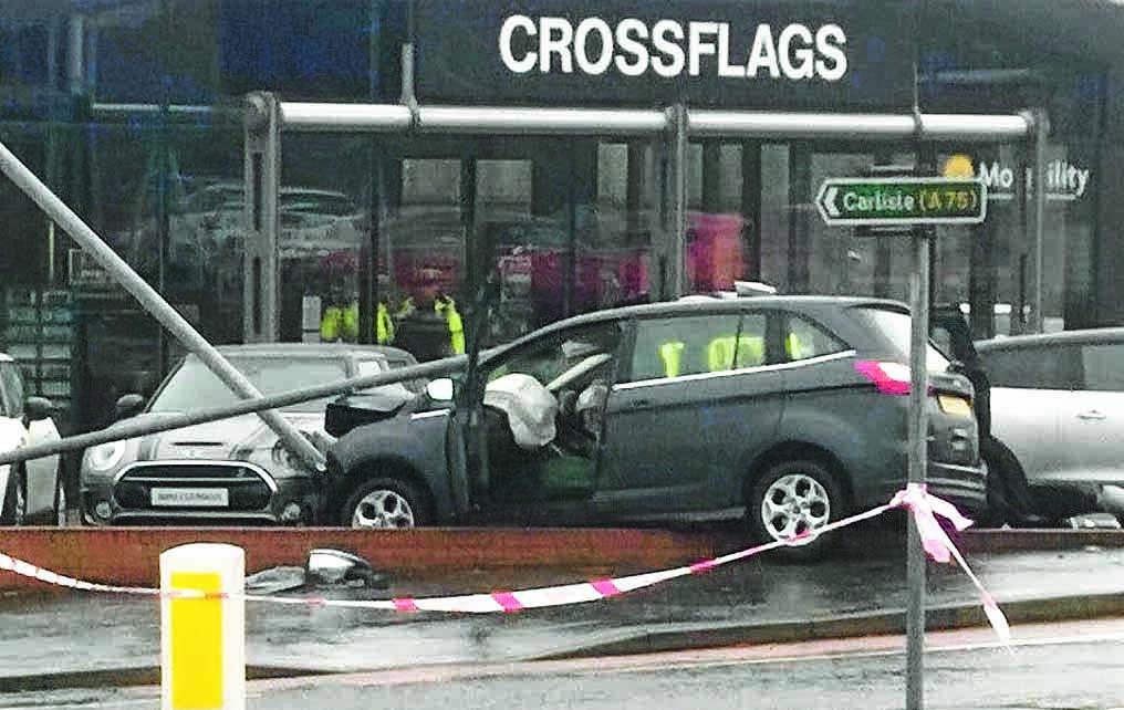 Driver dies after Dumfries accident
