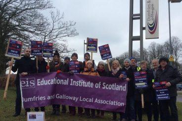 School strike action fear