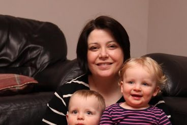 Heart warming story of twin mum