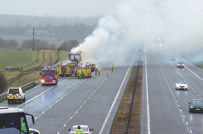 lorry fire ttt13