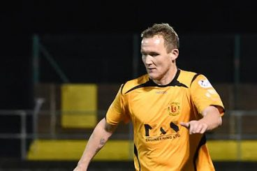 Top striker leads Annan's play-off push