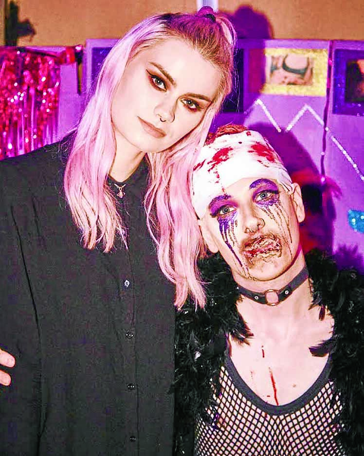 Creating mayhem with make up