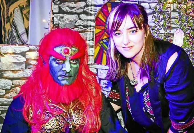 Sarah Jane McKenzie and her 'Zelda' creation