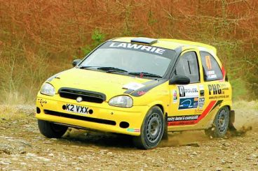 Rally driver reflects on season
