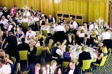 Ballgoers in £17k charity cheer