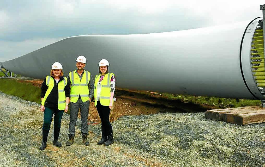 MSP gets up close to windfarm