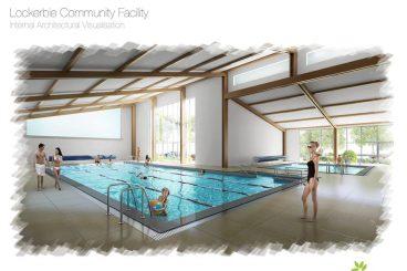 Pool plans plunge