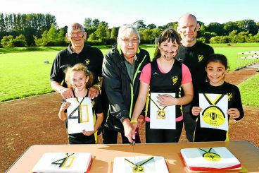 40 years carrying athletics baton