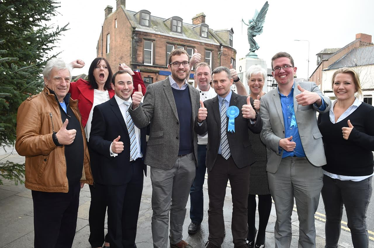 Tory Doug scoops by-election win