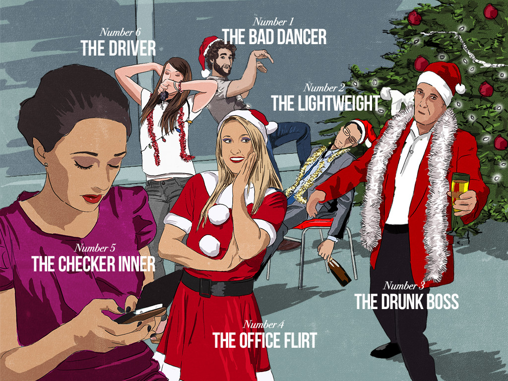 Blogmas Day 10 - The office Christmas party - DnG24