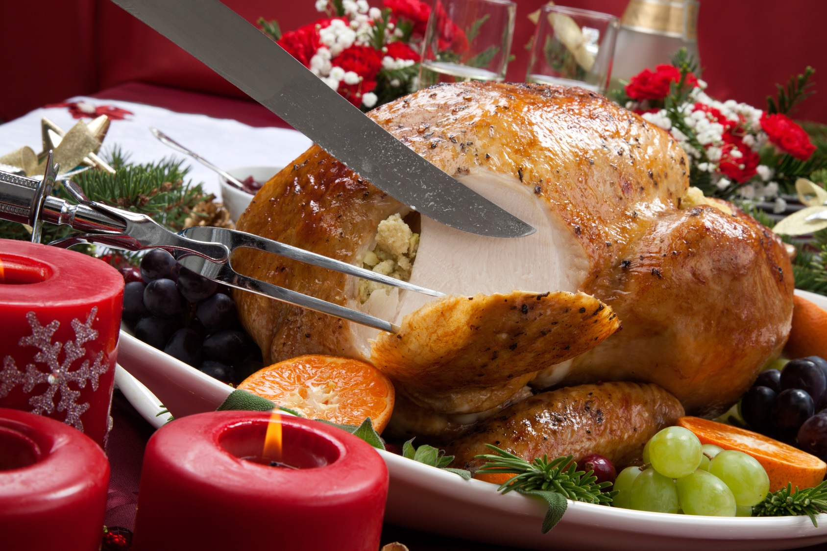 Chuch reveals Christmas Day meal plans