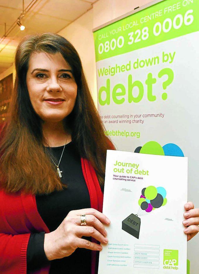 DEBT HELP . . . Dumfries CAP Debt Centre manager Tracy Vallance