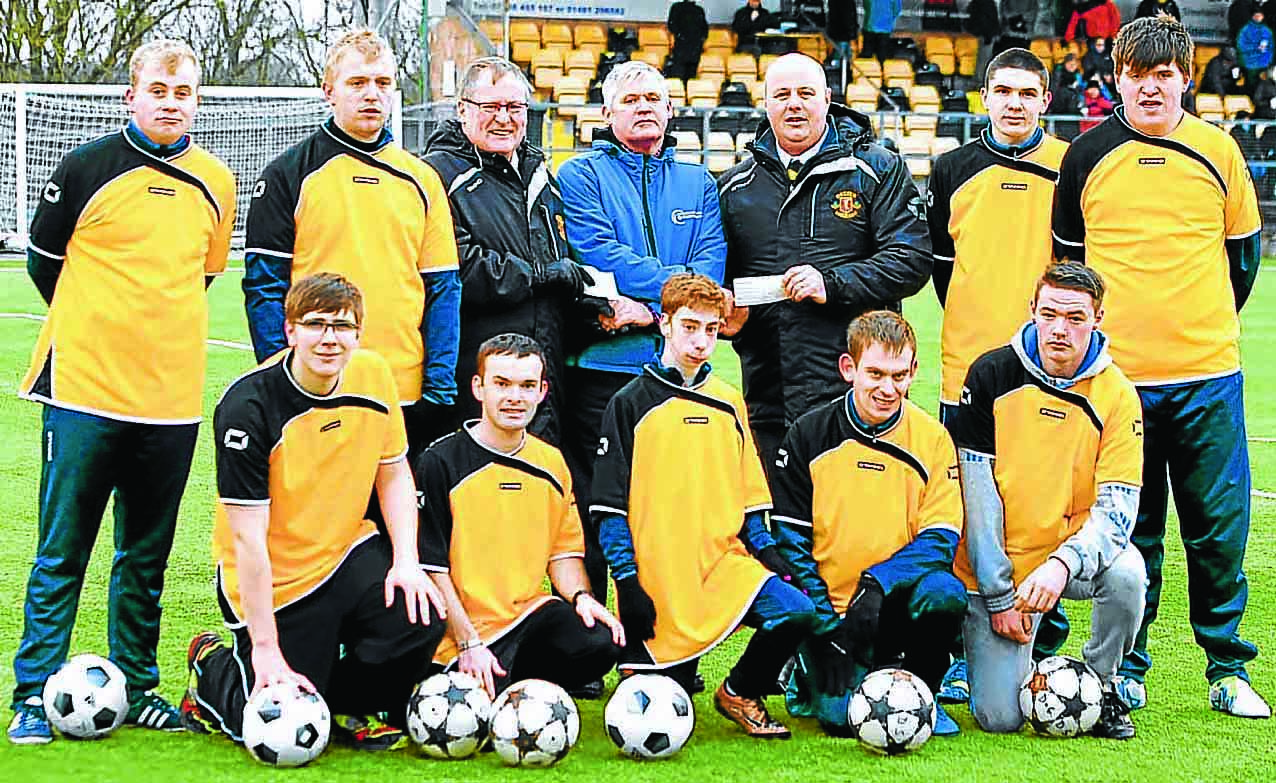 Funds boost for Special Olympics team